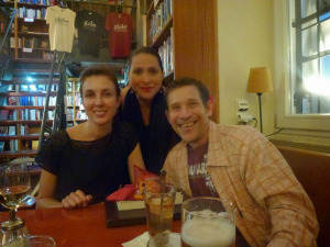 me, Christoph and Catalina