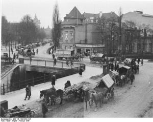 Danzig, Flüchtlingstreck