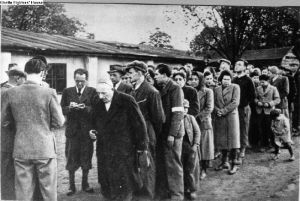 Forced deportation of Slovak Jews
