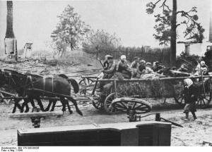 Ostpreussischer Flüchtlingstreck 1945
