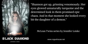 _Shannon got up and grinned venomously…_