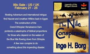 Nile Conspiracy - Feb 2016 SALE - Small