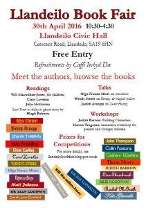 llandeilo book fair 2016 poster,