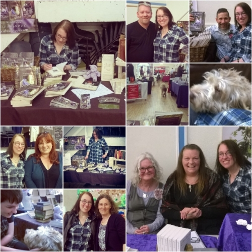 Llandeilo Book Fair april 2016, Lisa Shambrook and authors,