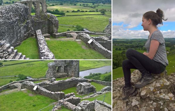 Dryslwyn castle, lisa shambrook, the last krystallos,