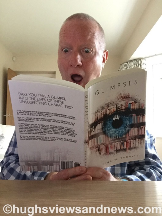 Hugh W. Roberts reading his new book Glimpses