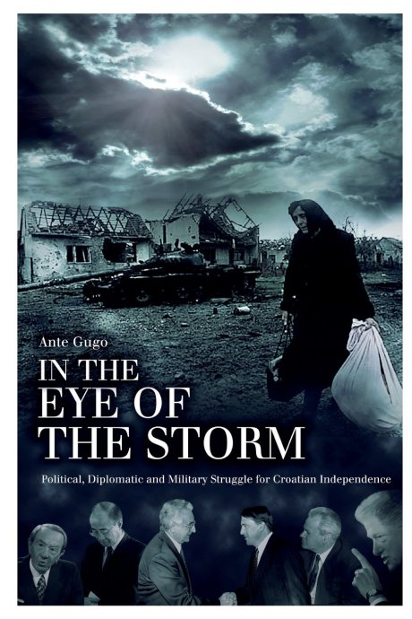 "Front Cover of book by Ante Gugo translated into English ""In The Eye Of The Storm"""