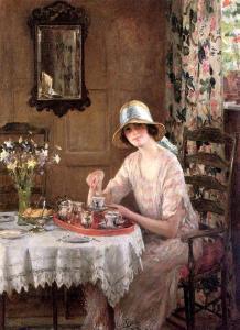 Tea William Henry Margetson Afternoon-Tea