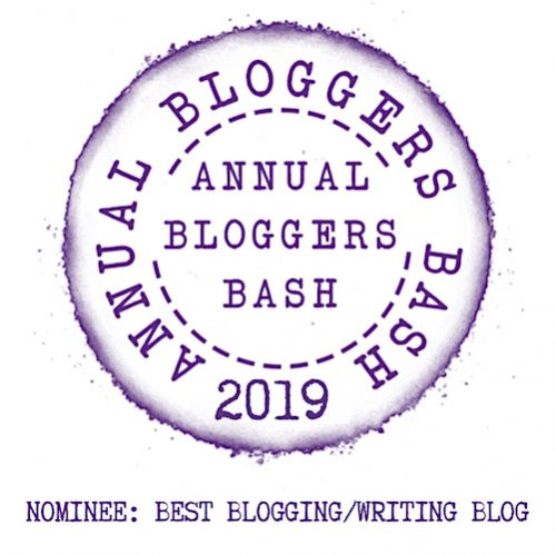 Annual Bloggers Bash 2019 - Nominee: Best Blogging/Writing Blog